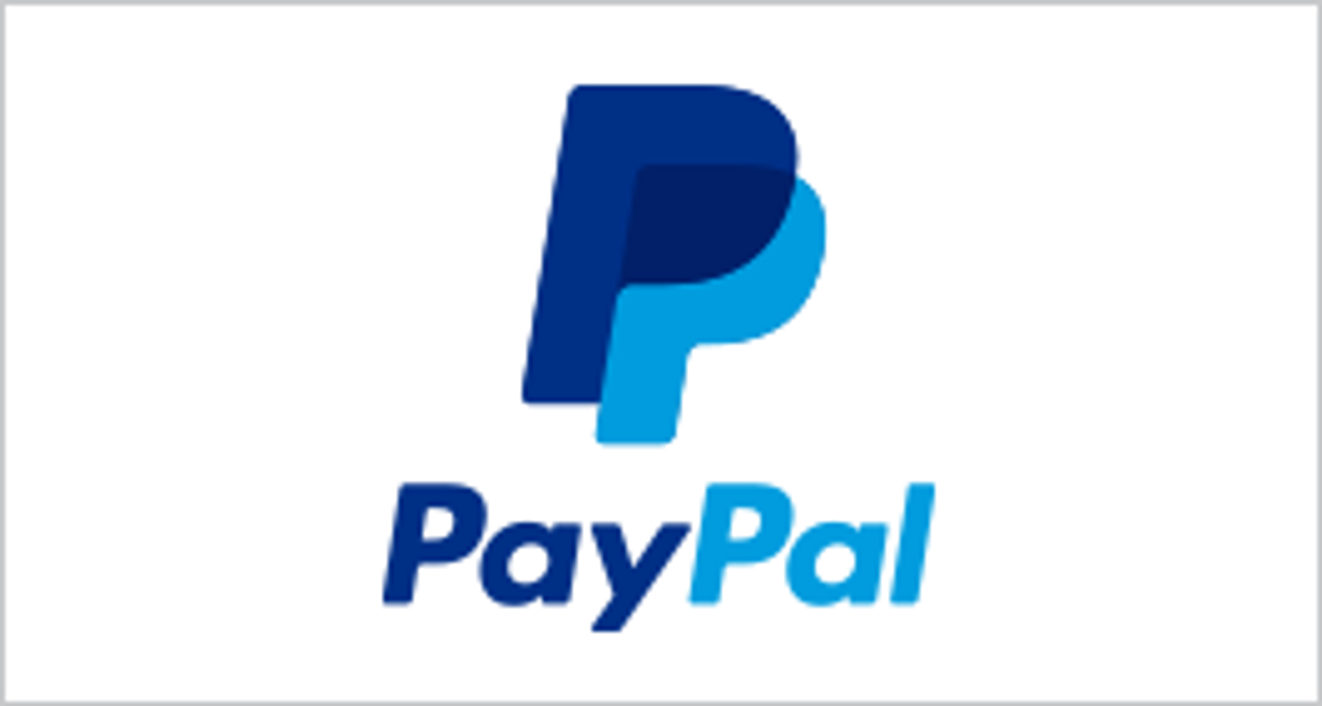 paypal- direct debit.